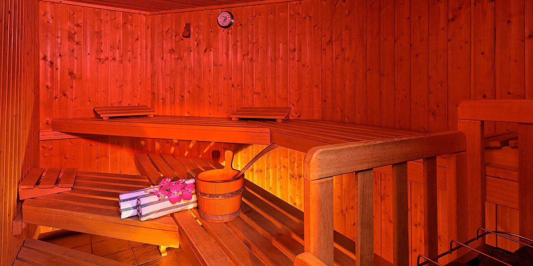 Finnische Sauna im Maria Theresia