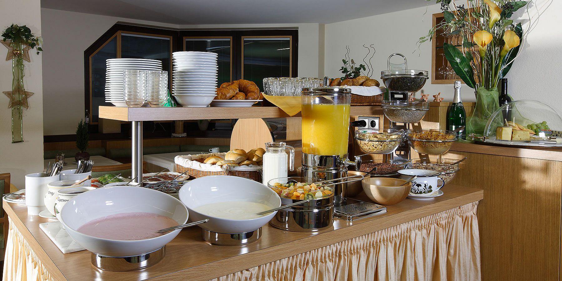 Frühstücksbuffet im Maria Theresia